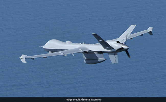 sea guardian drone ndtv with credit