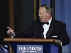 Sean Spicer Wanted To 'Poke A Little Fun Of Myself' At The Emmys. But What Was The Joke?