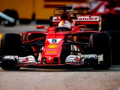 F1 2017: Vettel To Start On Pole At Singapore GP, Verstappen On Second