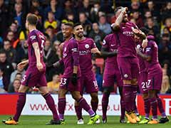 Premier League: Six-Goal Manchester City Go Top, Liverpool Held By Burnley