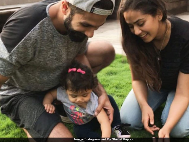 Shahid Kapoor And Misha Celebrated Mira's Birthday. Guess Who 'Finished' The Cake?