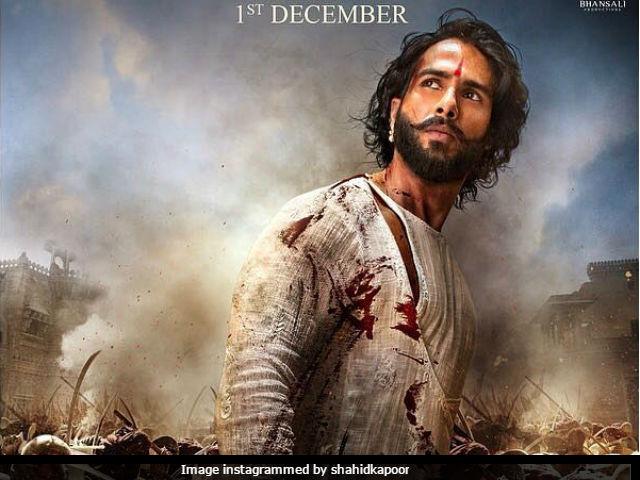 Padmavati: Shahid Kapoor As Ratan Singh On New Poster