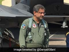 Shahid Khaqan Abbasi Becomes First Pakistani PM To Fly In F-16 Fighter Jet