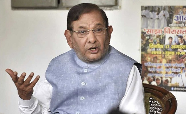 Sharad Yadav's JD(U) Faction Again In Court Over Arrow Symbol