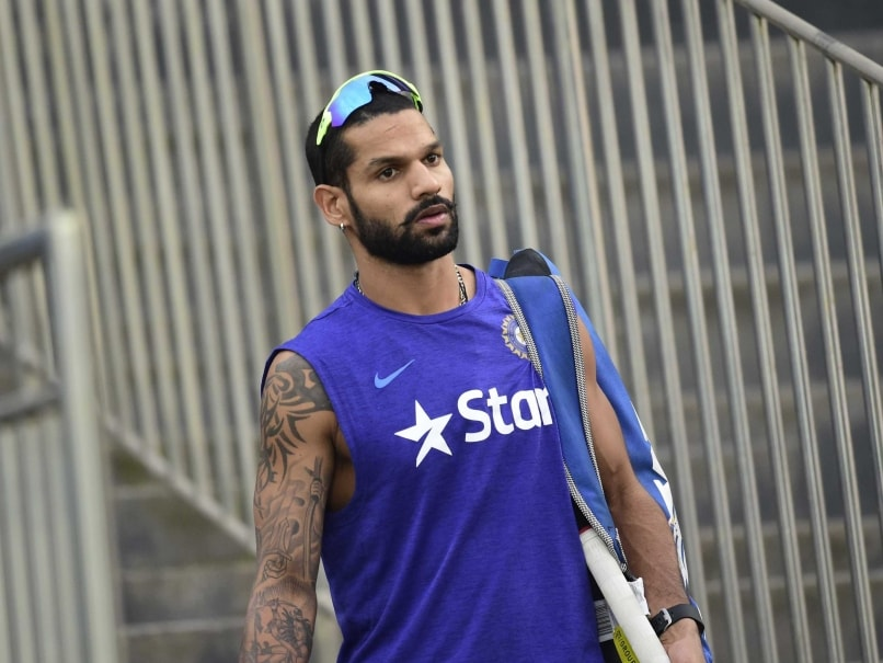 India vs Australia: Shikhar Dhawan To Miss First Three ODIs Due To Wife's Illness