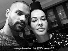 Shikhar Dhawan's Message For Ailing Wife Gets Twitter Emotional