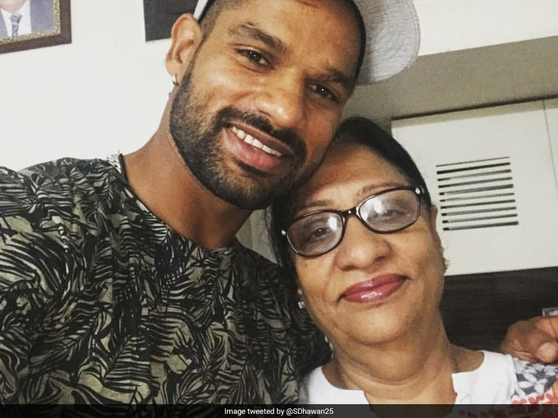 Shikhar Dhawan Shares Picture With Mother, Speaks About Her Health