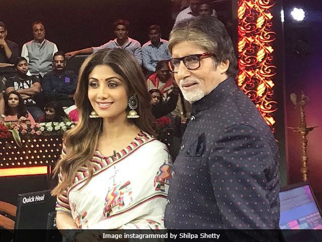 Kaun Banega Crorepati 9: Shooting With Amitabh Bachchan Is 'Surreal,' Says Shilpa Shetty