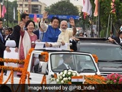 A Hug, Roadshow With PM Modi As Japan's Abe Starts Gujarat Tour: 10 Facts