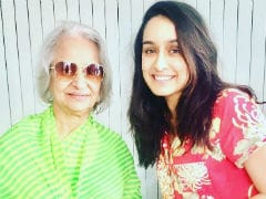 Shraddha Kapoor's 'Dream Come True' Moment With Waheeda Rehman