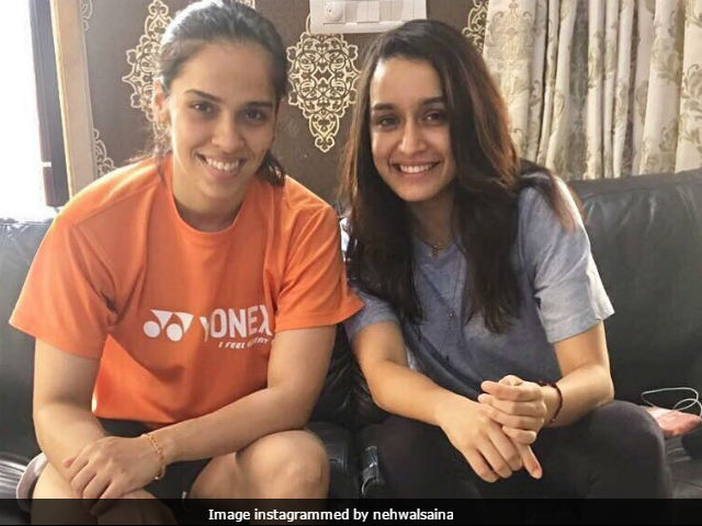 Shraddha Kapoor Visits Saina Nehwal's Residence, Gets Truly 'Pampered'