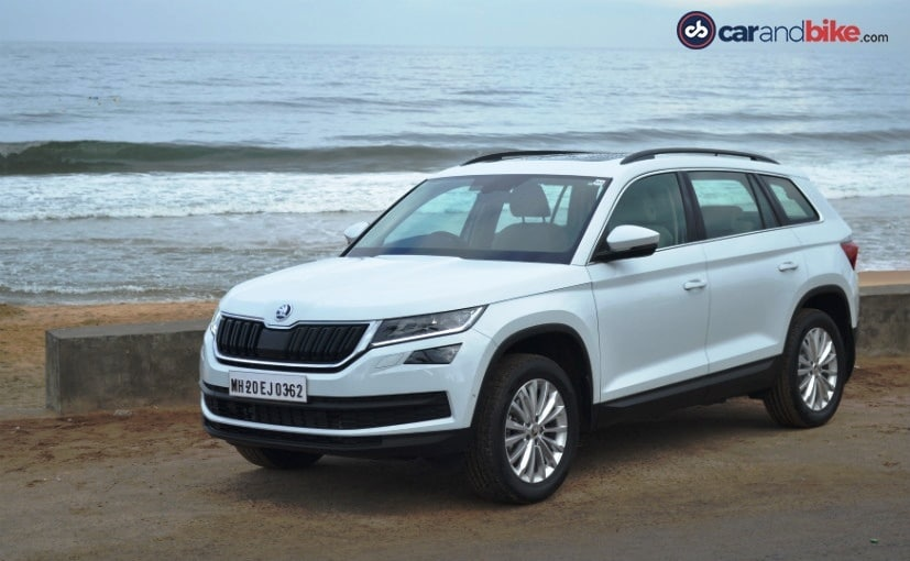 skoda kodiaq suv india launch highlights ndtv carandbike. Black Bedroom Furniture Sets. Home Design Ideas