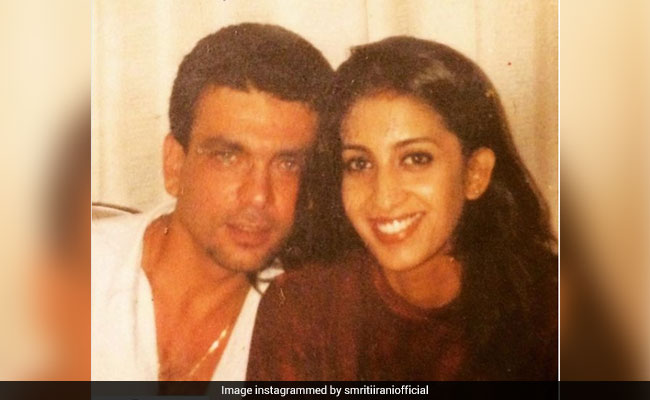 It's Throwback Thursday And Here's What Smriti Irani Posted On Instagram