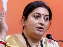 Smriti Irani Gets Top Court Notice Over Her Case Against Congress Leader