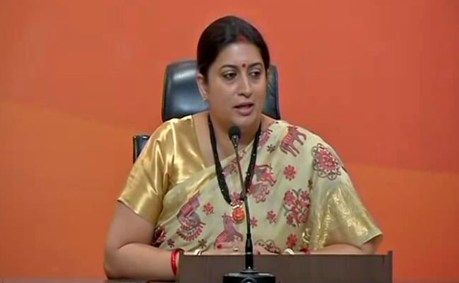 Union Minister Smriti Irani On Rahul Gandhi's Speech At University Of California, Berkeley: Highlights
