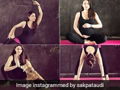 Here's How Actress Soha Ali Khan is Giving Major Pregnancy Fitness Goals