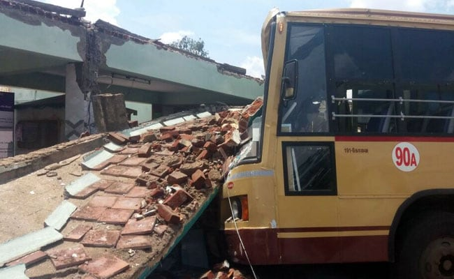 5 Killed As Bus Stand Collapses In Tamil Nadu's Coimbatore