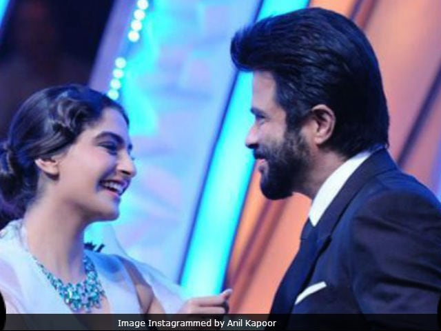 Sonam Says Dad Anil Kapoor Is Her 'Inspiration And Hero'