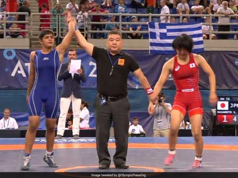 Sonam Malik Wins Gold At World Cadet Wrestling Championship, Neelam Bags Bronze