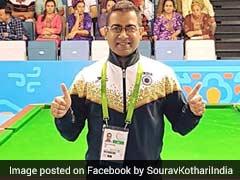 Asian Indoor Games: Sourav Kothari Wins Gold In Billiards