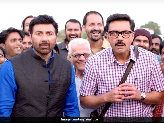 Poster Boys Movie Review: Sunny And Bobby Deol Have A Rustic Charm