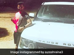 Cricketer Suresh Raina Escapes Major Accident While Driving