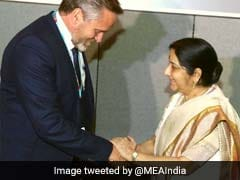 External Affairs Minister Sushma Swaraj Meets Counterparts From 5 Nations In New York