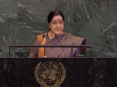 We Made IITs, Pakistan Made Lashkar, Says Sushma Swaraj At UN: 10 Points