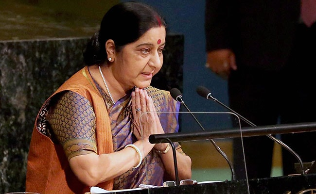 Sushma Swaraj To Visit Bangladesh On October 23 For JCC Meet
