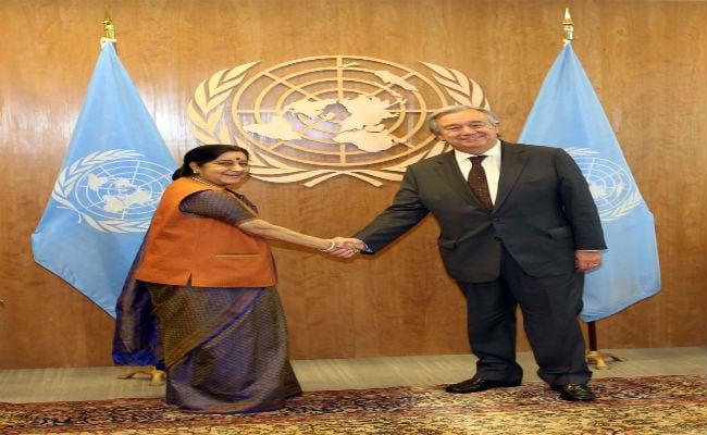 UN Secretary General Antonio Guterres Lauds India's Contribution To UN