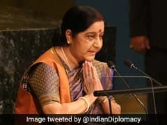 Amid Sushma Swaraj's Takedown Of Pakistan At UN, A Veiled Dig At China