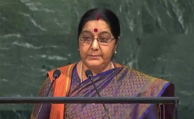 Rajnath Singh Hails Sushma Swaraj's UN Speech, Says She 'Exposed' Pak Duplicity