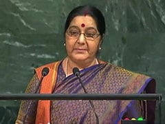 Live: We Set Up IITs, IIMs. Pak Created Lashkar, Says Sushma Swaraj At UN