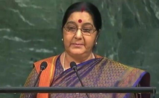 Sushma Swaraj UN General Assembly Address: We Set Up IITs, IIMs. Pak Created Lashkar, Jaish-e-Mohammed