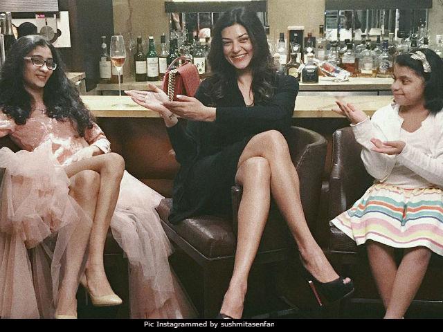 This Is How Sushmita Sen's Daughter Renee's 18th Birthday Night Looked Like