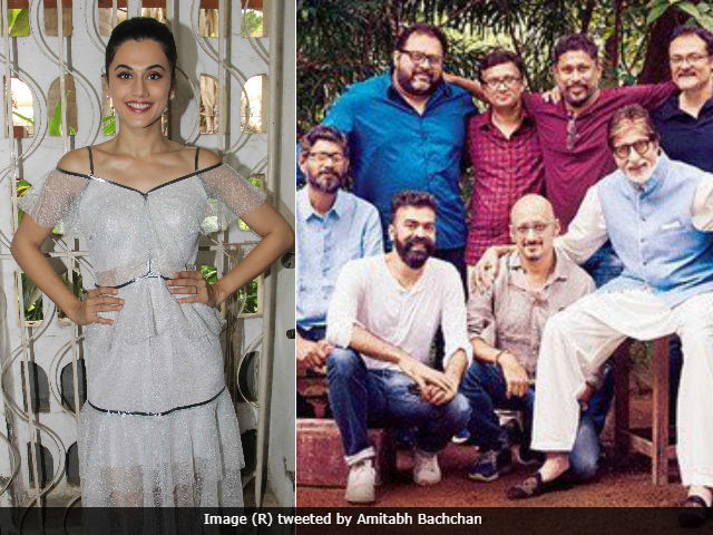 Taapsee Pannu Says Amitabh Bachchan's Pink All-Male Crew Picture 'Wasn't Intentional'