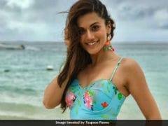 Taapsee Pannu, Trolled For <i>Judwaa 2</i> Bikini Pic, Makes Slow Clap-Worthy Comeback