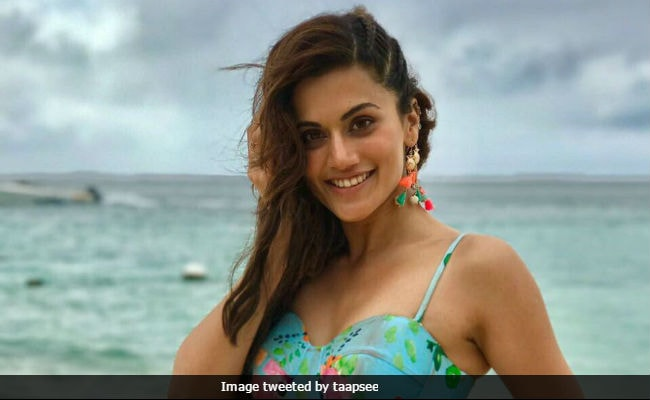 Taapsee Pannu To Her Bikini Critics: 'If You Have The Body, Flaunt It'