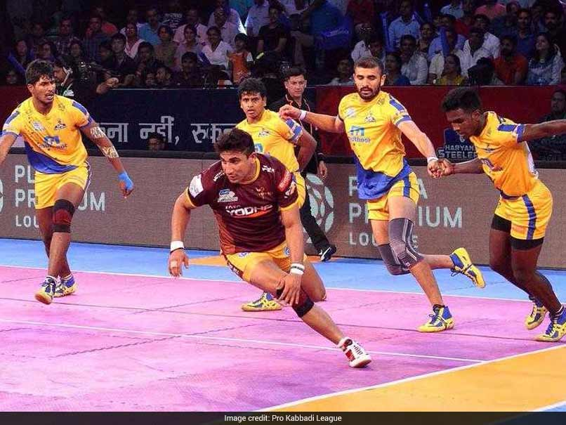 Pro Kabaddi League: Tamil Thalaivas beat UP Yoddha 34-33