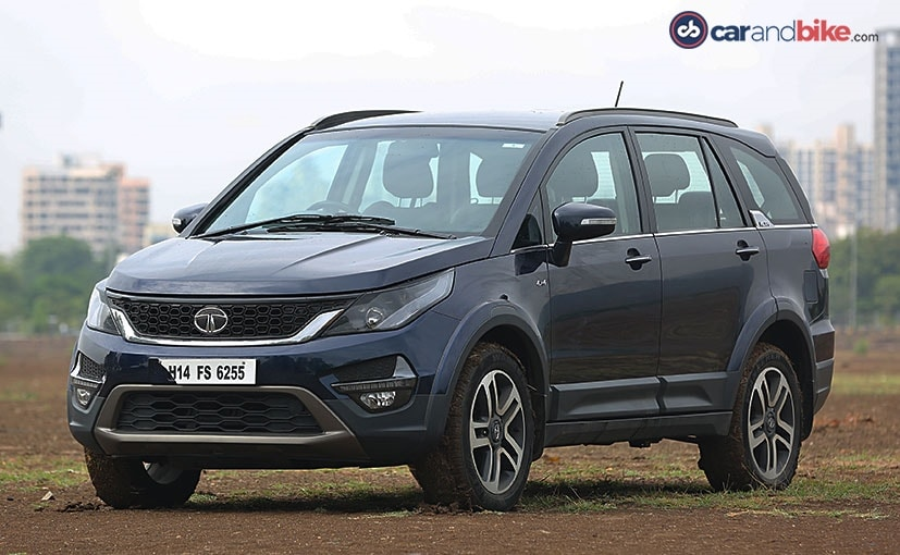 tata hexa has a butch and imposing design