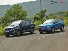 Jeep Compass vs Tata Hexa: Comparison Review