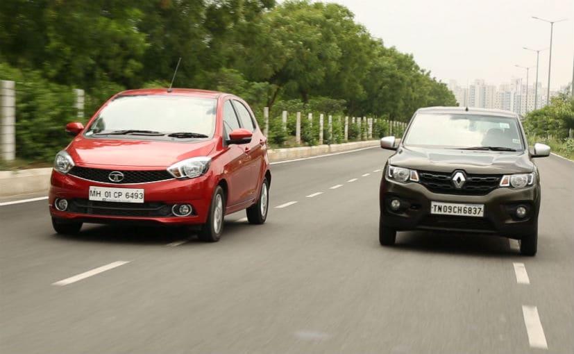 Automatic Hatchback Shootout: Renault Kwid 1-litre Easy-R AMT vs Tata Tiago AMT