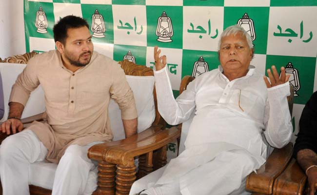 Lalu Prasad Drops Hint Tejashwi Yadav Could Be RJD Face In Next Bihar Poll