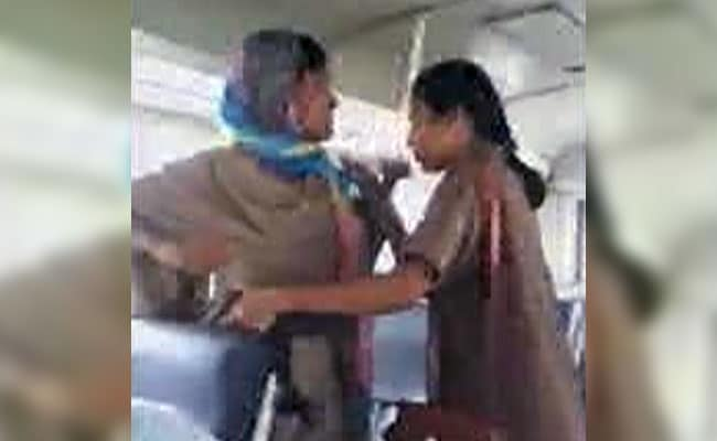 Telangana Woman Cop, Conductor Exchange Blows Over Rs 15 Bus Fare