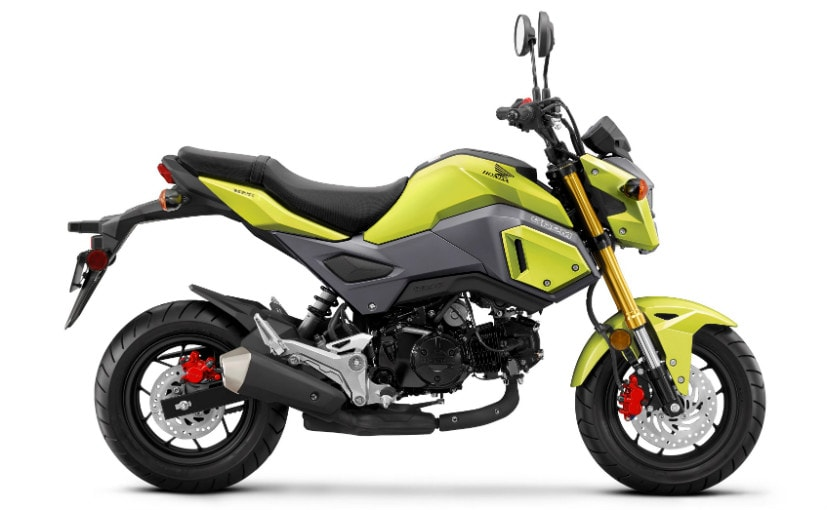 Honda Grom And Scoopy Were Spotted Testing On Indian Roads Recently