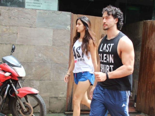 Tiger Shroff Spotted On A Lunch Date With Rumoured Girlfriend Disha Patani