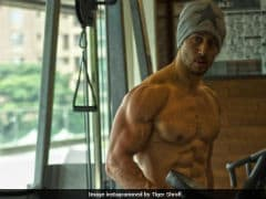 Tiger Shroff's Shares <i>Baaghi 2</i> Workout Pic And The Internet Can't Keep Calm
