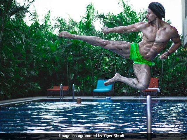 Tiger Shroff's Heropanti Is Off The Charts In This Pic
