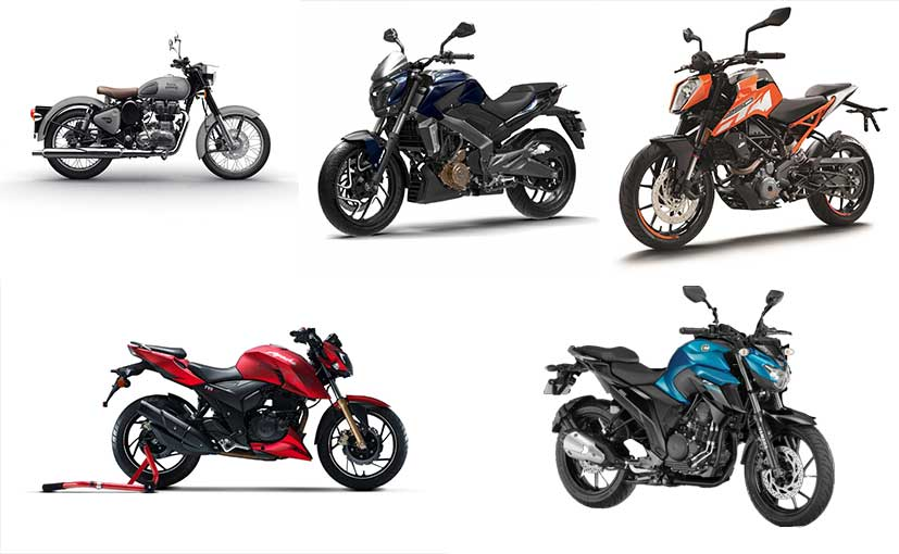 Top 5 Bikes In India Under 2 Lakh
