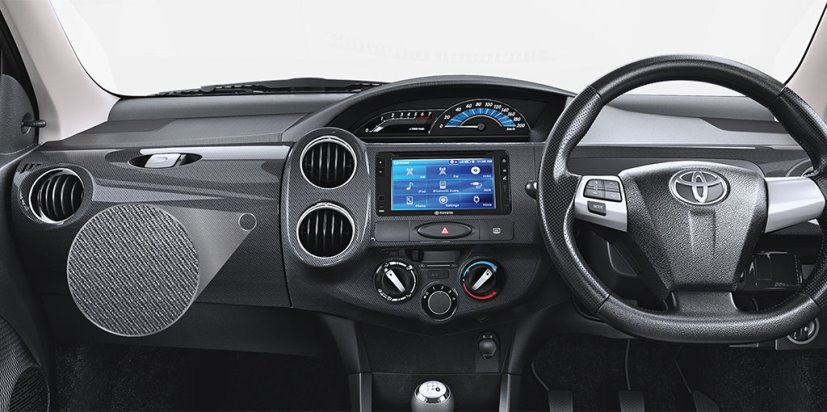 toyota etios cross x dashboard